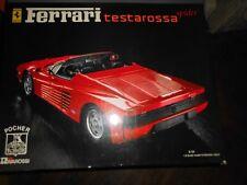 POCHER/Rivarossi Ferrari Testarossa 1:8 Kit NEUF