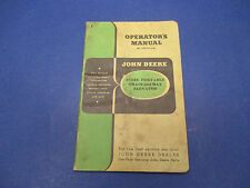 John Deere Operator's. Manual No.OM-C4-7-46 Steel Portable Grain&Hay Elevator