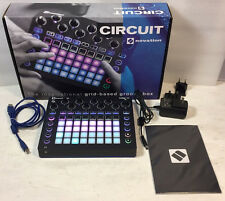 Novation Circuit Groove Box, Drum machine, Synthesizer - Lightly Used