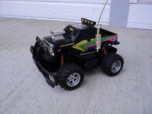 Nikko Black Thunder Apache RC Electric 1992 Black RARE
