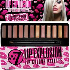 W7 Cosmetics - Lip Explosion Pallete 12 Lipstick Lip Colours with Applicator