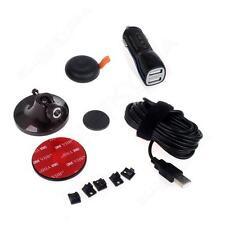3M GPS Base Mount +USB Car Charger+Remote Control Kit for DDPAI M6 Plus Dashcam