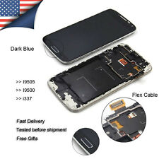 OEM For Samsung Galaxy S4 i9505 Screen LCD Replacement Digitizer Touch Dark Blue