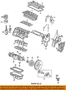 HONDA OEM-Engine Oil Pan Gasket 11251P30004