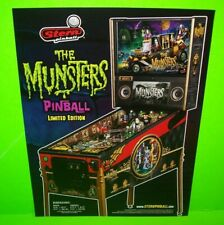 The Munsters Pinball Machine FLYER Limited Original Horror Halloween Gothic