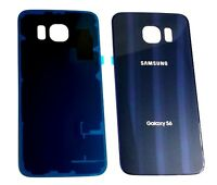 Original OEM BLUE Battery Back Glass Cover For Samsung S6 G920 ~ All Carriers