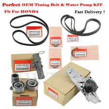 9PCS Perfect OEM Timing Belt & Water Pump Kit For HONDA/ACURA Accord Odyssey V6