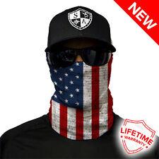 Salt Armour Sa Face Shield (American Flag Pattern) - Usa Balaclava