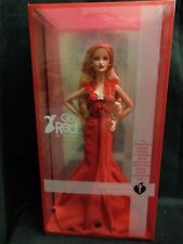 BARBIE GO RED AMERICAN HEART ASSOCIATION BARBIE PINK LABEL NEW