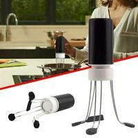 CW/_ Automatic Blender Cordless Egg Beater Cream Sauce Batter Stirrer Stick Egg N