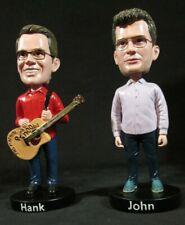 ~ VLOG BROTHERS ~ Hank Green & John Green ~ Bobble Heads ~ VLOGBROTHERS NEW BOX