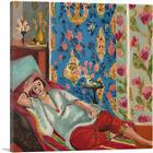 ARTCANVAS Odalisque in Red Trousers 1921 Canvas Art Print by Henri Matisse