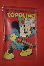WALT DISNEY TOPOLINO libretto n° 20- originale mondadori-1950 completo gioco