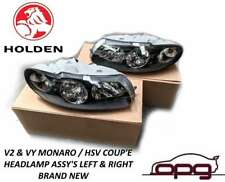 Genuine Holden Headlamps for V2 VY Monaro & HSV Coupe / GTO - Pair