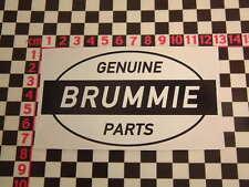 Ed Roth Style Brummie Genuine Parts Sticker -  Mini British BL Land Rover BMC