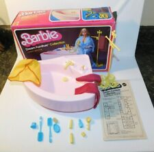 1979 Barbie Dream Furniture Collection Luxury Bathroom Set & ORIGINAL BOX