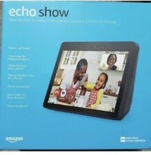 """Amazon Echo Show (2nd Generation) 10"""" HD Screen With Alexa CHARCOAL Brand NEW!"""