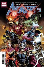 Avengers #1 unread nm regular cover Aaron McGuinness 9.4 +