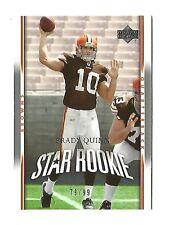 2007 Upper deck Brady Quinn rookie rc, 79/99, #278, Clevelend Browns Notre Dame