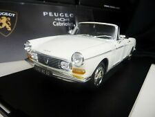 1:18 NOREV Peugeot 404 Cabriolet white weiss NEU NEW