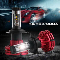 Nighteye H4 9003 HB2 10000LM Car LED Headlight Kit Hi/Lo Beam Bulbs 6500K White