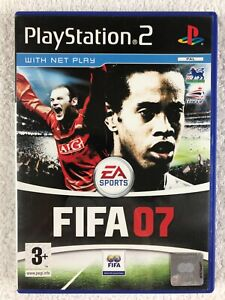 FIFA 07 - Sony PlayStation 2 - Complete - PAL - Net Play - EA Sports