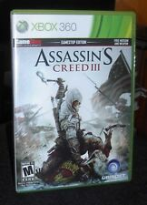 Assassin's Creed III (Microsoft Xbox 360, 2012 Game Stop Edition)