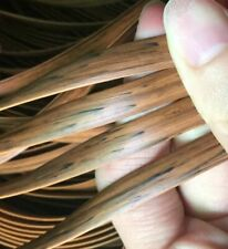 Synthetic Rattan Weaving Material For Knit & Chair Repair Flat Plastic Rattans