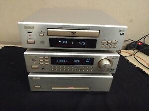 DENON F100 Traumkombination POA+AVR+DVD 5.1 Heimkino oder Stereo-Genuss 1.Liga