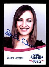 Sandra Lehmann Autogrammkarte Original Signiert # BC 104499
