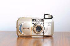 NIKON Lite*Touch Zoom 130ED AF    35mm film Camera  , 38-130mm Macro  * Good *