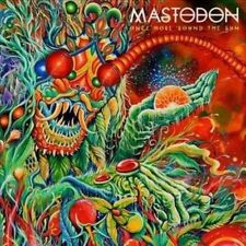 Mastodon Once More 'round The Sun 2004 EU 11 Track CD Album & Metal