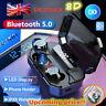 UK Bluetooth Headset TWS Wireless Earphones Mini Earbuds Sport Stereo Headphone@