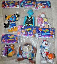 SPACE Jam Plushes MC DONALD'S 1996 DA COLLEZIONE set di 6. VINTAGE toy figure. TV