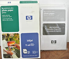 HP Premium Plus Photo Paper, Glossy, 4x6, 60 Sheets Factory Sealed