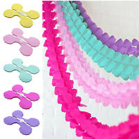 3m Paper Bunting Banner Garland Birthday Wedding Party for Hanging Decoration