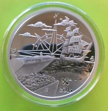 Silver 2015 1 oz FINDING SILVERBUG ISLAND PROOF (Very Low Serial Numbers)