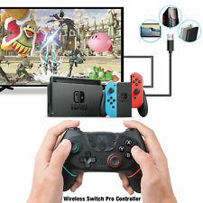 Bluetooth Wireless Gamepad Joystick Pro Controller for Nintendo Switch Black