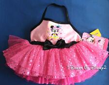 NEW Build-A-Bear MINNIE MOUSE Pink Sequin Halter Dress DISNEY Teddy Clothes