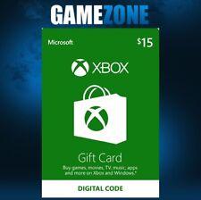 Xbox Live $15 dólares EE. UU. tarjeta de regalo de Microsoft Points para Xbox 360/Xbox One instantáneo