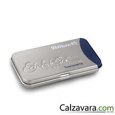 Pelikan Cartucce Edelstein Ink Cartridges 6 Cartucce - colore: NeroBlu Tanzanite