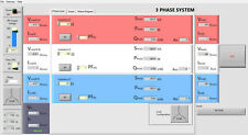 3 Phase Impedance Software Simulator for practical exercises