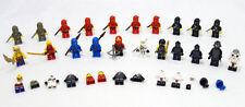 LEGO Lot of 21 Ninjas & Ninjago Character MiniFigures Many Complete + Extras