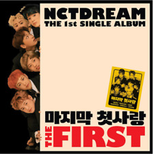 "K-POP NCT DREAM Single Album ""The First"" [ 1 Photobook + 1 CD ] Free Shipping"