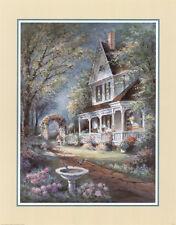 Victorian Home Art Poster Print by George Bjorkland, 8x10