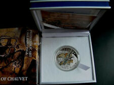NIUE ISLAND 2011 CAVE PAINTING - CHAUVET- SILVER PROOF COIN