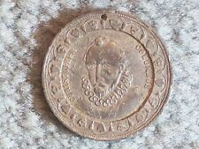 MEDAL 1892 CHRISTOPHER COLUMBUS TOKEN – 1492 OCT 1892 400th ANNIVERSARY OF THE D
