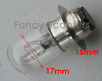 Light Bulb (dual filament) 12V 10W/10W for Gas Scooters, PART13123