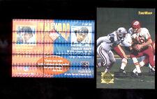 1995 CE CHARLES HALEY LEN DAWSON Dallas Cowboys Kansas City Chiefs TIMEWARP Card