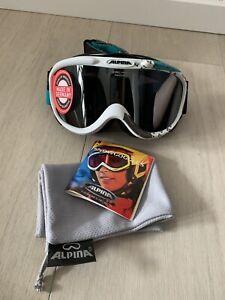 ALPINA Skibrille Snowboardbrille UV-A,-B,-C Schutz NEU OVP